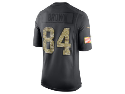 Pittsburgh Steelers Antonio Brown Nike NFL Men's 2016 Salute to Service Jersey