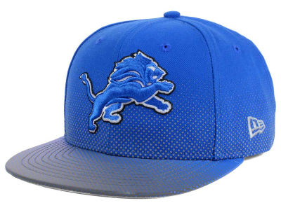 Detroit Lions New Era NFL Flow Flect 9FIFTY Snapback Cap