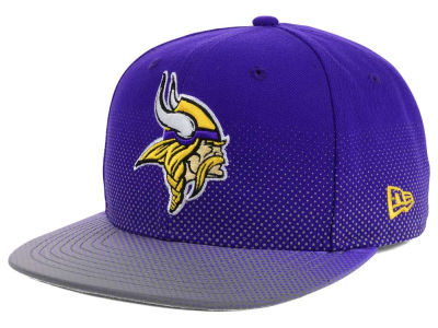 Minnesota Vikings New Era NFL Flow Flect 9FIFTY Snapback Cap