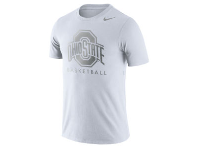 Ohio State Buckeyes Nike NCAA Men's Dri-Fit Cotton Basketball Graphic T-Shirt