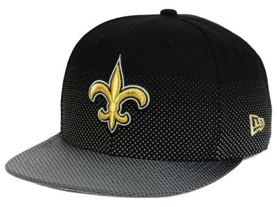 New Orleans Saints New Era NFL Flow Flect 9FIFTY Snapback Cap