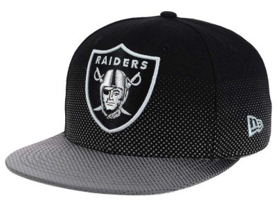 Oakland Raiders New Era NFL Flow Flect 9FIFTY Snapback Cap