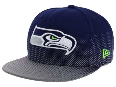 Seattle Seahawks New Era NFL Flow Flect 9FIFTY Snapback Cap