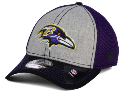 Baltimore Ravens New Era NFL Heathered Neo 39THIRTY Cap