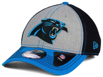 Carolina Panthers New Era NFL Heathered Neo 39THIRTY Cap