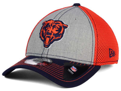 Chicago Bears New Era NFL Heathered Neo 39THIRTY Cap