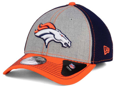 Denver Broncos New Era NFL Heathered Neo 39THIRTY Cap
