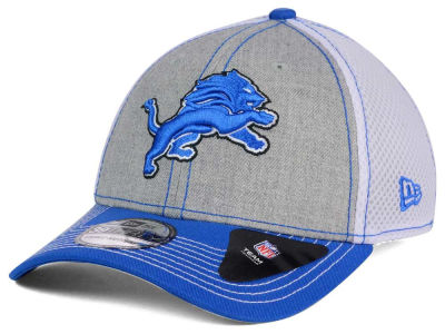 Detroit Lions New Era NFL Heathered Neo 39THIRTY Cap