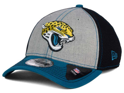 Jacksonville Jaguars New Era NFL Heathered Neo 39THIRTY Cap