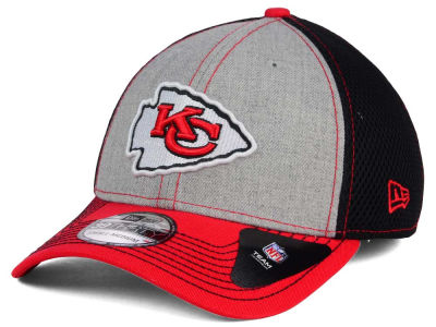 Kansas City Chiefs New Era NFL Heathered Neo 39THIRTY Cap