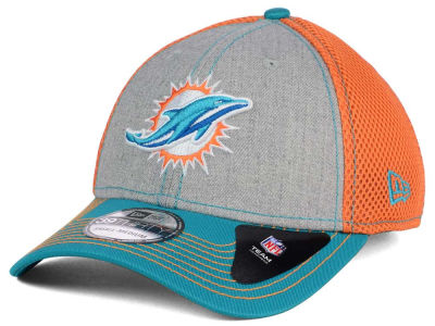 Miami Dolphins New Era NFL Heathered Neo 39THIRTY Cap