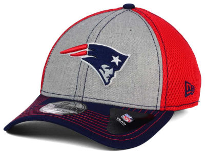 New England Patriots New Era NFL Heathered Neo 39THIRTY Cap