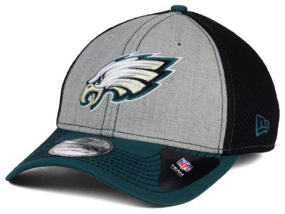 Philadelphia Eagles New Era NFL Heathered Neo 39THIRTY Cap