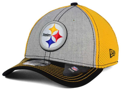 Pittsburgh Steelers New Era NFL Heathered Neo 39THIRTY Cap
