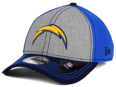 San Diego Chargers New Era NFL Heathered Neo 39THIRTY Cap