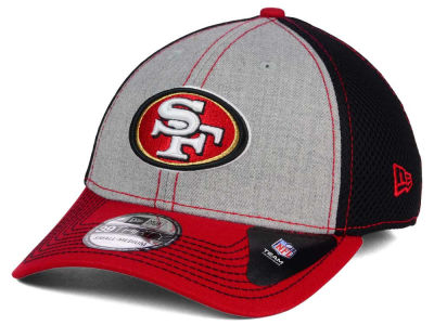 San Francisco 49ers New Era NFL Heathered Neo 39THIRTY Cap
