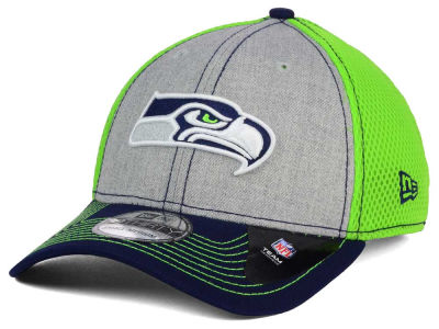 Seattle Seahawks New Era NFL Heathered Neo 39THIRTY Cap