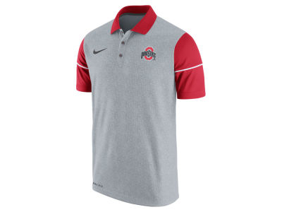Ohio State Buckeyes Nike NCAA Men's Sideline Polo Shirt
