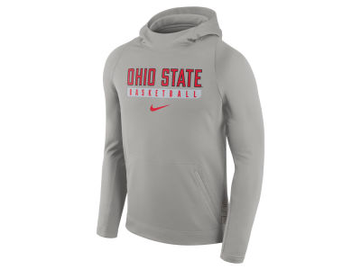 Ohio State Buckeyes Nike NCAA Men's Elite Basketball Performance Hoodie