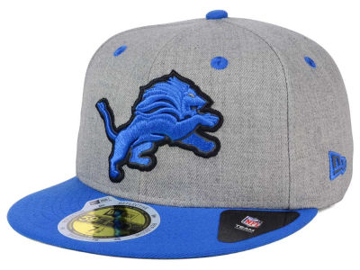 Detroit Lions New Era NFL Total Reflective 59FIFTY Cap