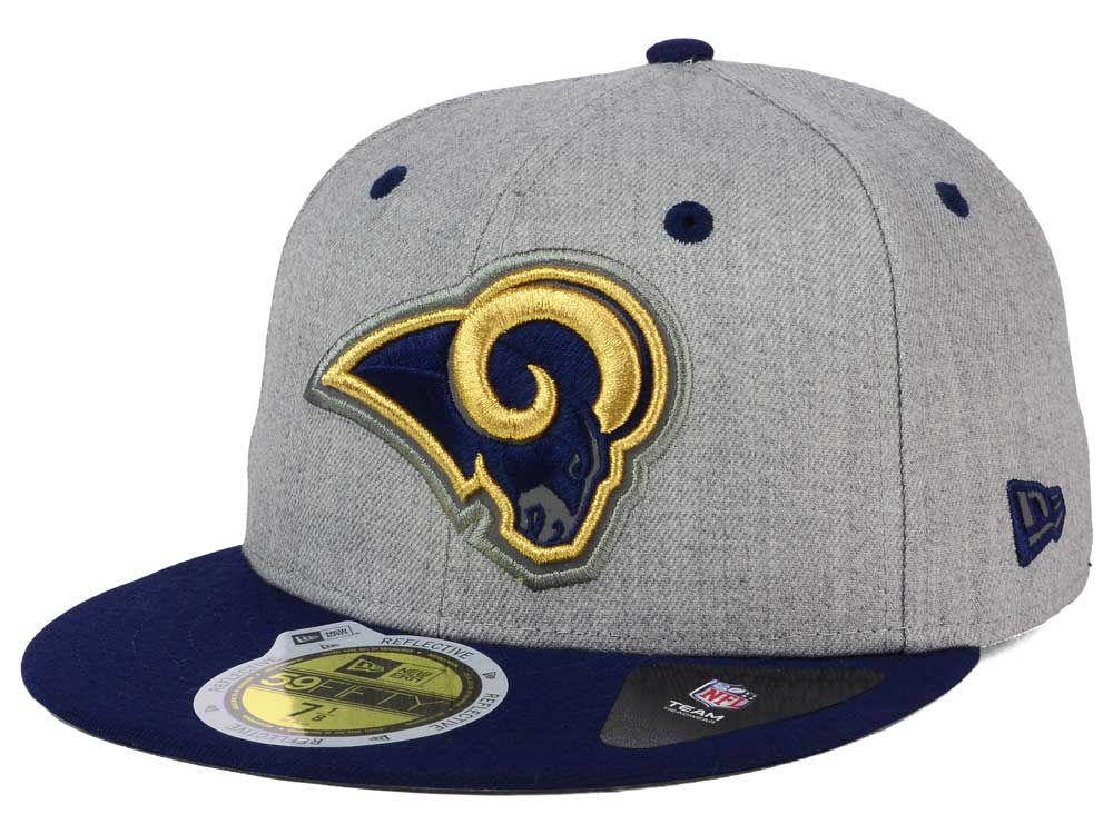 cd033f154 Los Angeles Rams New Era NFL Total Reflective 59FIFTY Cap