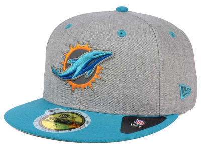 Miami Dolphins New Era NFL Total Reflective 59FIFTY Cap