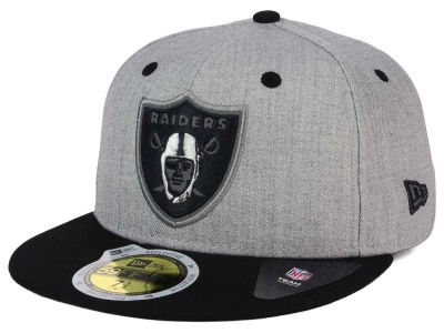 Oakland Raiders New Era NFL Total Reflective 59FIFTY Cap