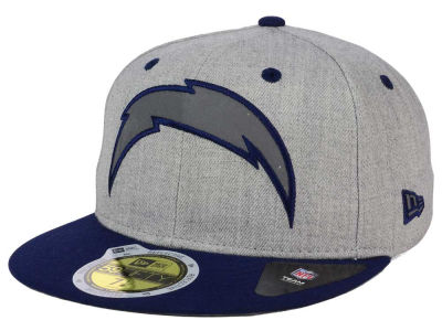 San Diego Chargers New Era NFL Total Reflective 59FIFTY Cap