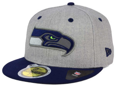 Seattle Seahawks New Era NFL Total Reflective 59FIFTY Cap