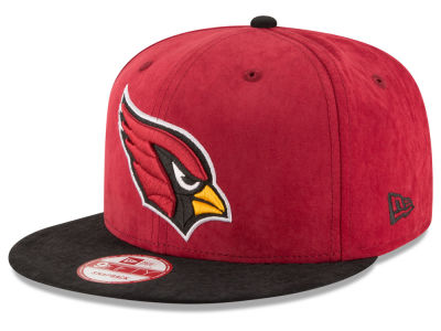 Arizona Cardinals New Era NFL Summer Suede 9FIFTY Snapback Cap