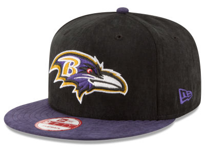 Baltimore Ravens New Era NFL Summer Suede 9FIFTY Snapback Cap
