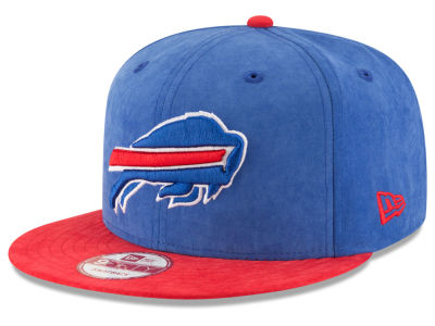 Buffalo Bills New Era NFL Summer Suede 9FIFTY Snapback Cap