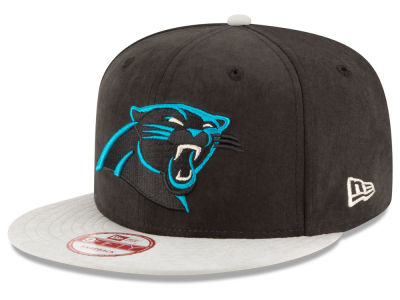 Carolina Panthers New Era NFL Summer Suede 9FIFTY Snapback Cap