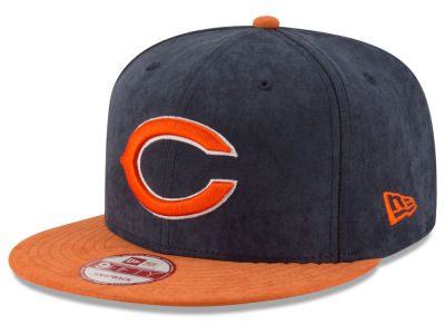 Chicago Bears New Era NFL Summer Suede 9FIFTY Snapback Cap