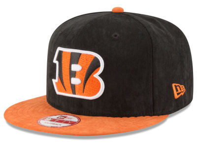 Cincinnati Bengals New Era NFL Summer Suede 9FIFTY Snapback Cap