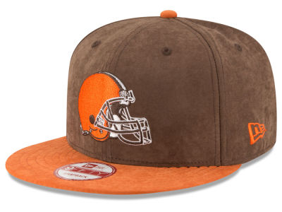 Cleveland Browns New Era NFL Summer Suede 9FIFTY Snapback Cap