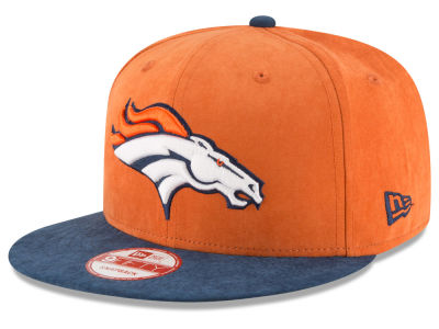 Denver Broncos New Era NFL Summer Suede 9FIFTY Snapback Cap