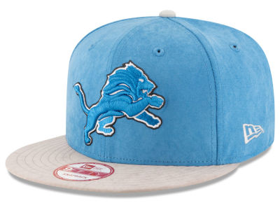 Detroit Lions New Era NFL Summer Suede 9FIFTY Snapback Cap