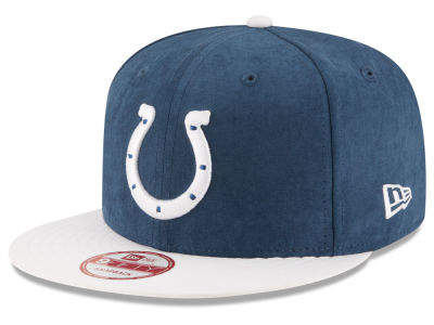 Indianapolis Colts New Era NFL Summer Suede 9FIFTY Snapback Cap