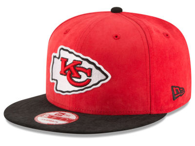Kansas City Chiefs New Era NFL Summer Suede 9FIFTY Snapback Cap