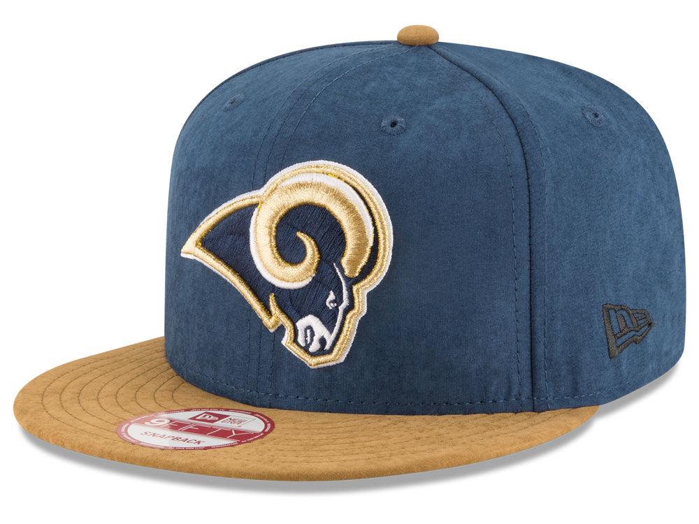 Los Angeles Rams New Era NFL Summer Suede 9FIFTY Snapback Cap  590abec19