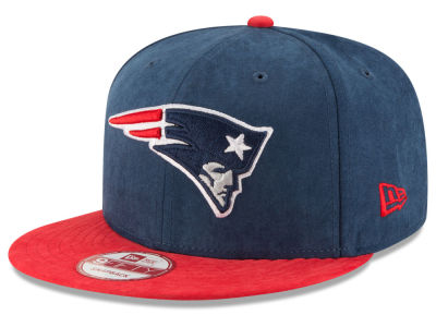 New England Patriots New Era NFL Summer Suede 9FIFTY Snapback Cap