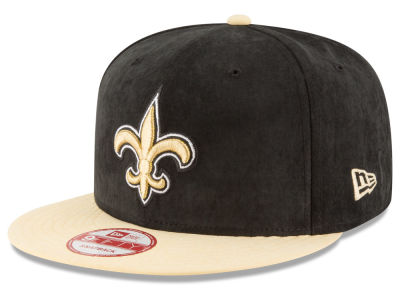 New Orleans Saints New Era NFL Summer Suede 9FIFTY Snapback Cap