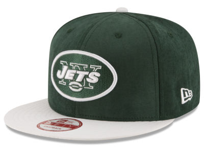 New York Jets New Era NFL Summer Suede 9FIFTY Snapback Cap