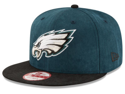 Philadelphia Eagles New Era NFL Summer Suede 9FIFTY Snapback Cap