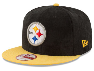 Pittsburgh Steelers New Era NFL Summer Suede 9FIFTY Snapback Cap