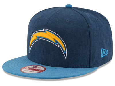 Los Angeles Chargers New Era NFL Summer Suede 9FIFTY Snapback Cap