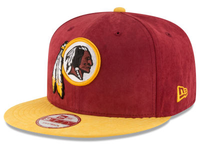 Washington Redskins New Era NFL Summer Suede 9FIFTY Snapback Cap