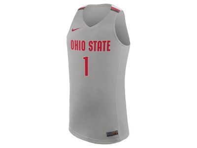 5c6b86bd Nike NCAA Men's Replica Basketball Jersey Apparel at OhioStateBuckeyes.com
