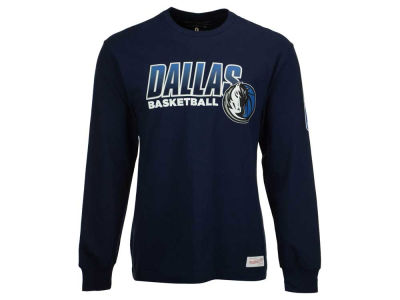 Dallas Mavericks Mitchell and Ness NBA Men's Keeping Score Long Sleeve T-Shirt